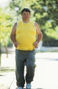 Man in Yellow Shirt - Running